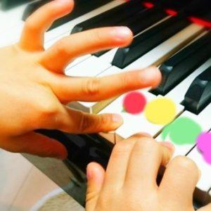 子どものピアノレッスン